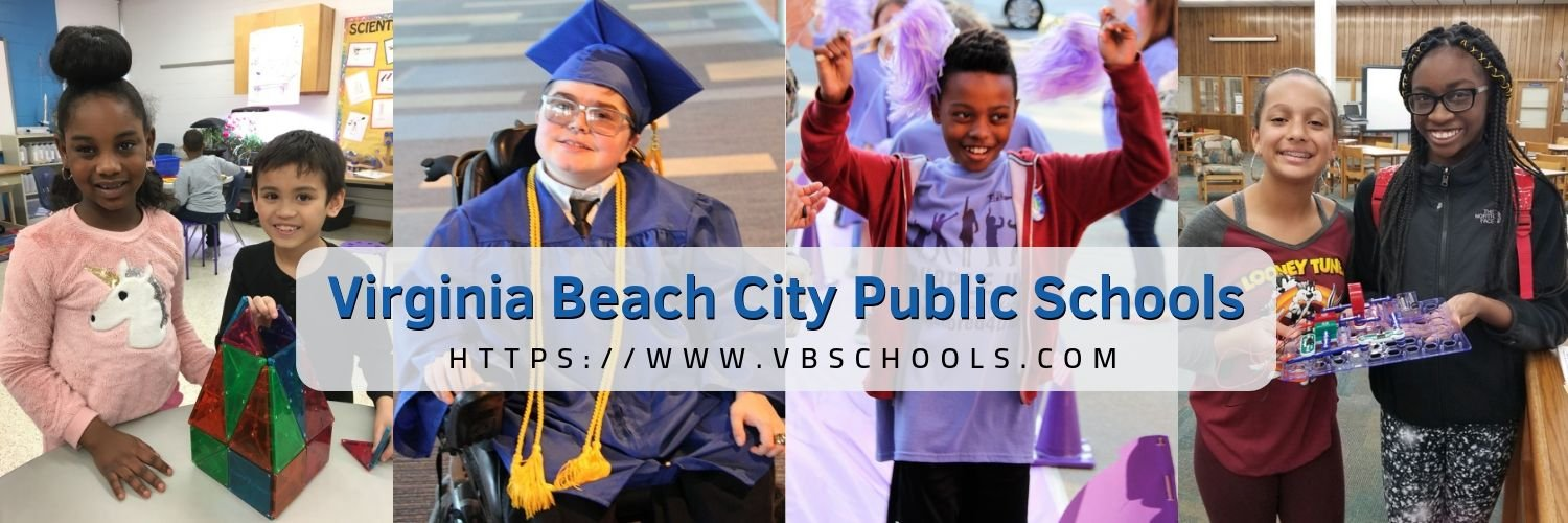 Virginia Beach City Public Schools: Charting the Course. #WeAreVBSchools See our social media terms of use here: vbschools.com/socialmedia