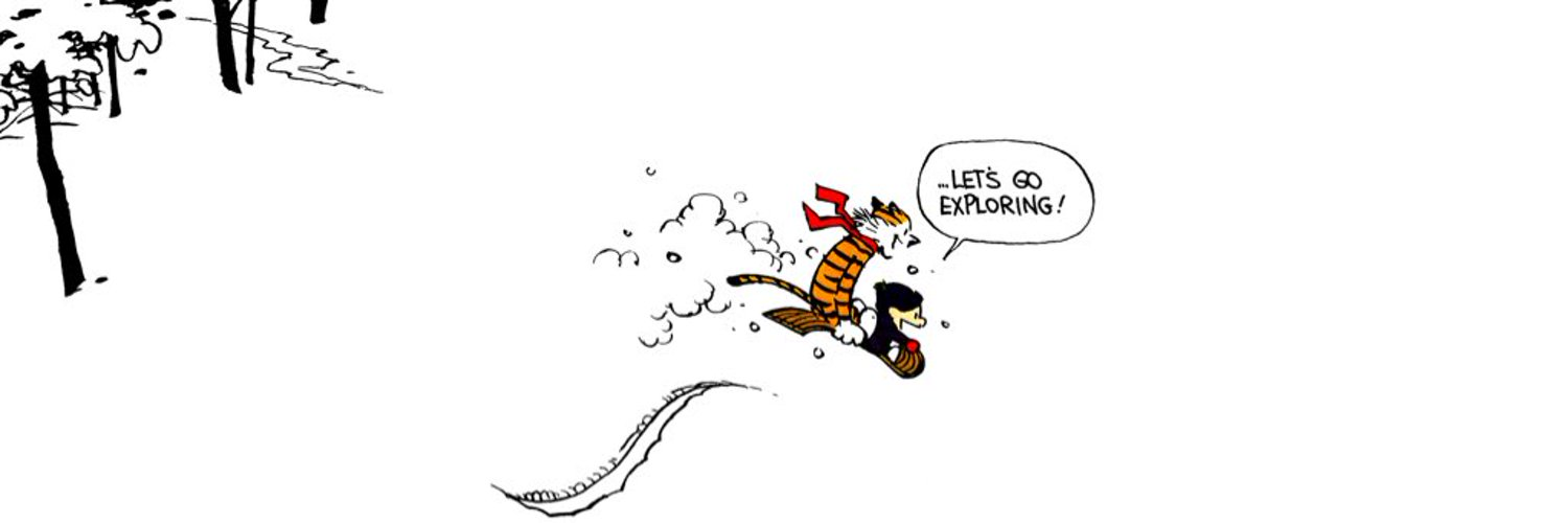 Posting all the greatest strips from the famous Calvin and Hobbes comics by Bill Watterson ©. Business inquiries/comic submissions: candhtwitter@gmail.com