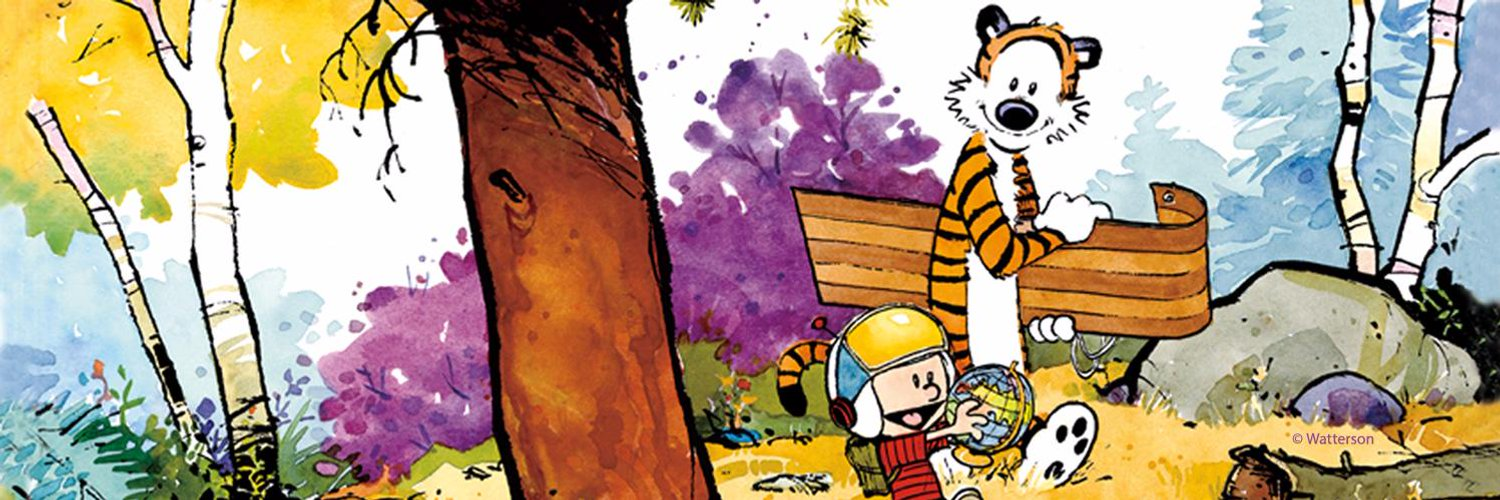 The official Calvin and Hobbes Twitter account, created by Bill Watterson's publisher & syndicate. Read #calvinandhobbes daily on @GoComics!