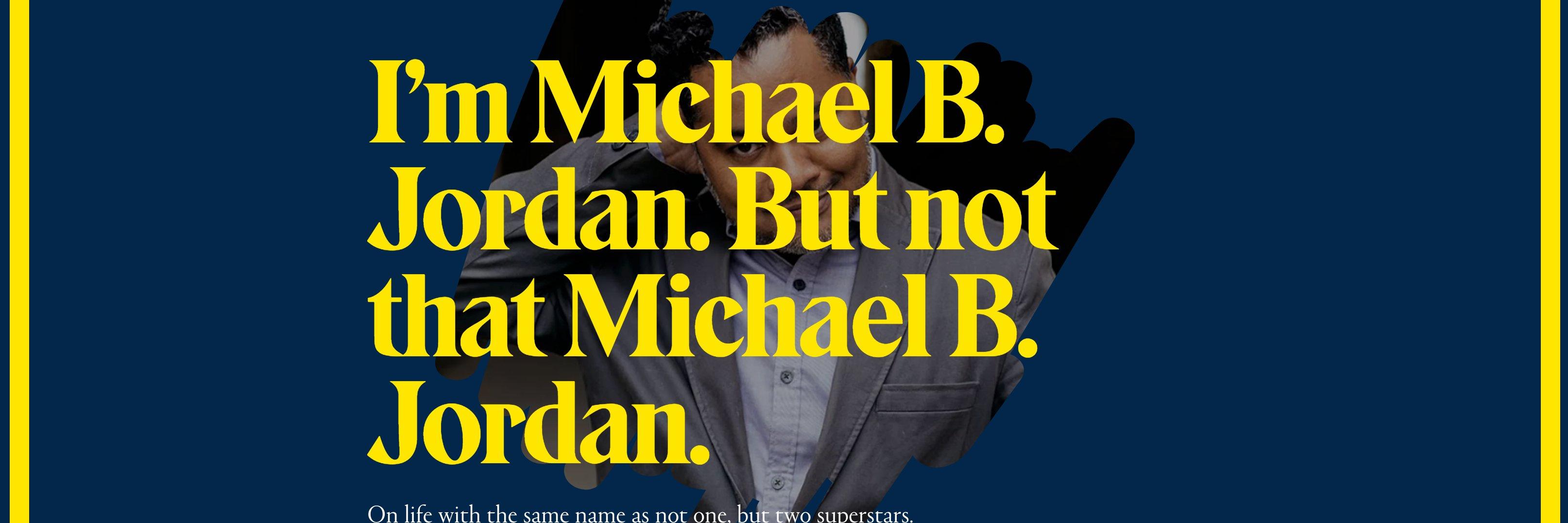 Mike Jordan is #OUTCHEA