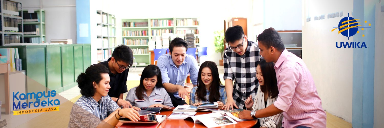 Universitas Widya Kartika's official Twitter account