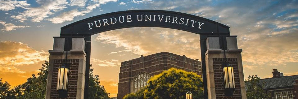 Purdue University's official Twitter account