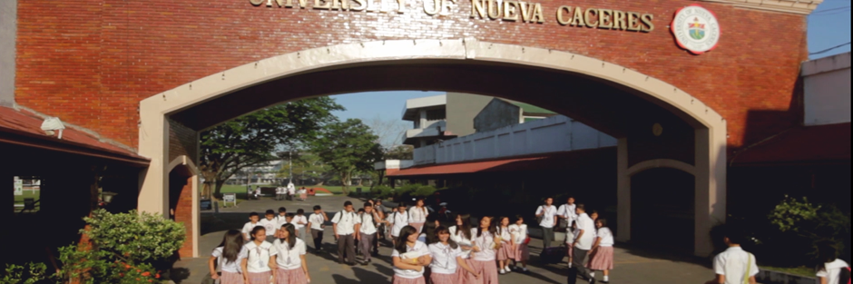 University of Nueva Caceres's official Twitter account
