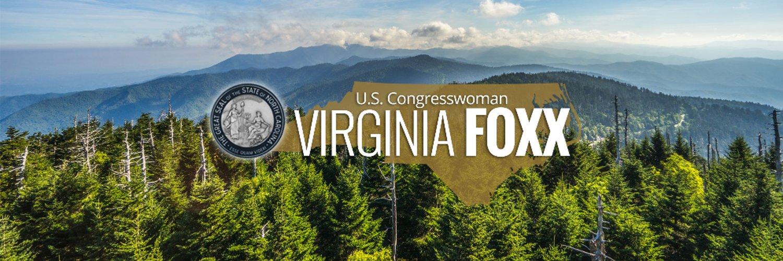 Congresswoman Virginia Foxx. Conservative representing North Carolina's Fifth District.