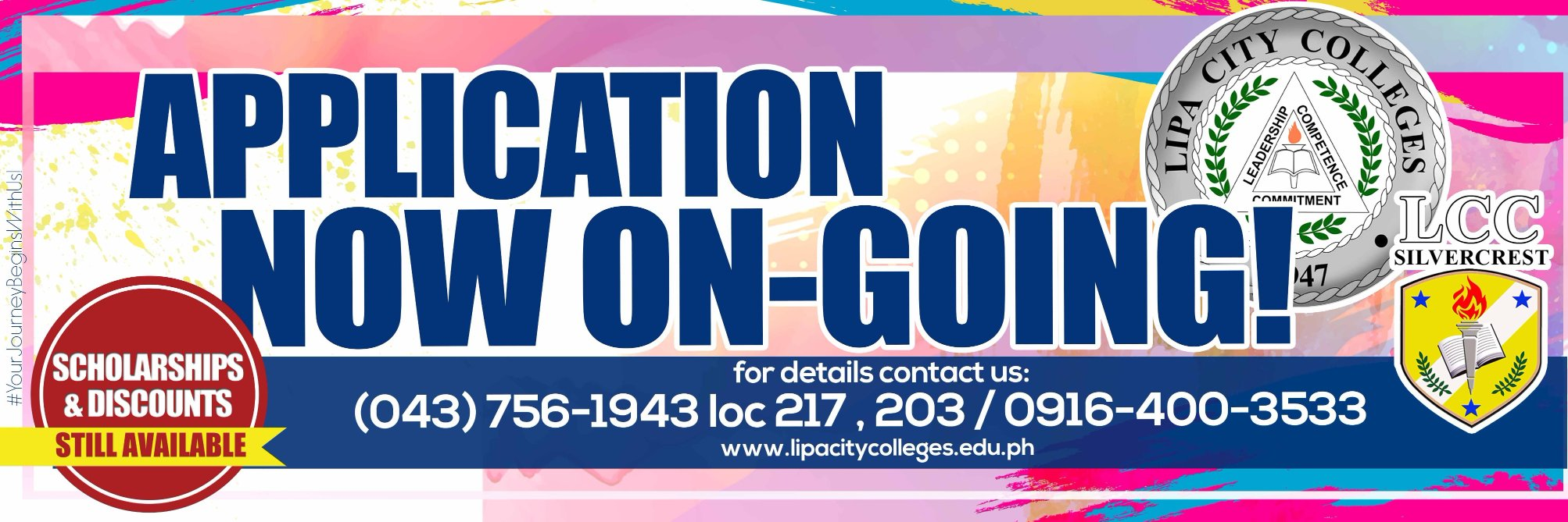 Lipa City Colleges's official Twitter account