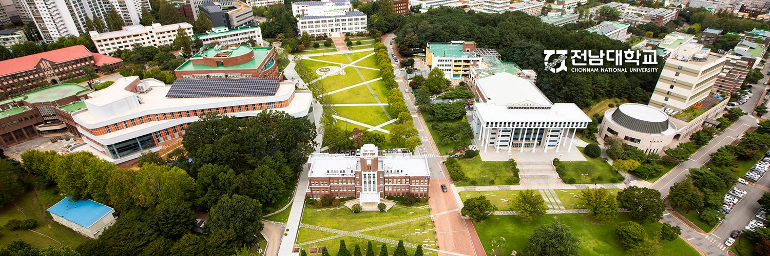 Chonnam National University's official Twitter account