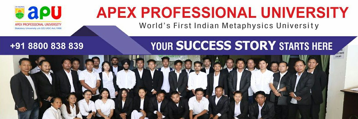 Apex Professional University's official Twitter account