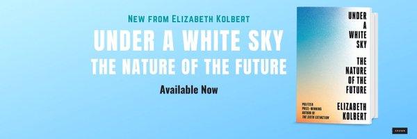 Elizabeth Kolbert Profile Banner