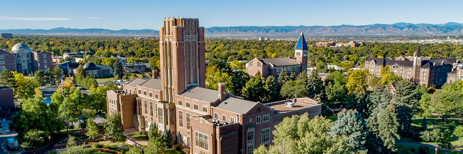 Welcome to the official Twitter account for the University of Denver, a private university dedicated to the public good, located in Denver, Colorado.