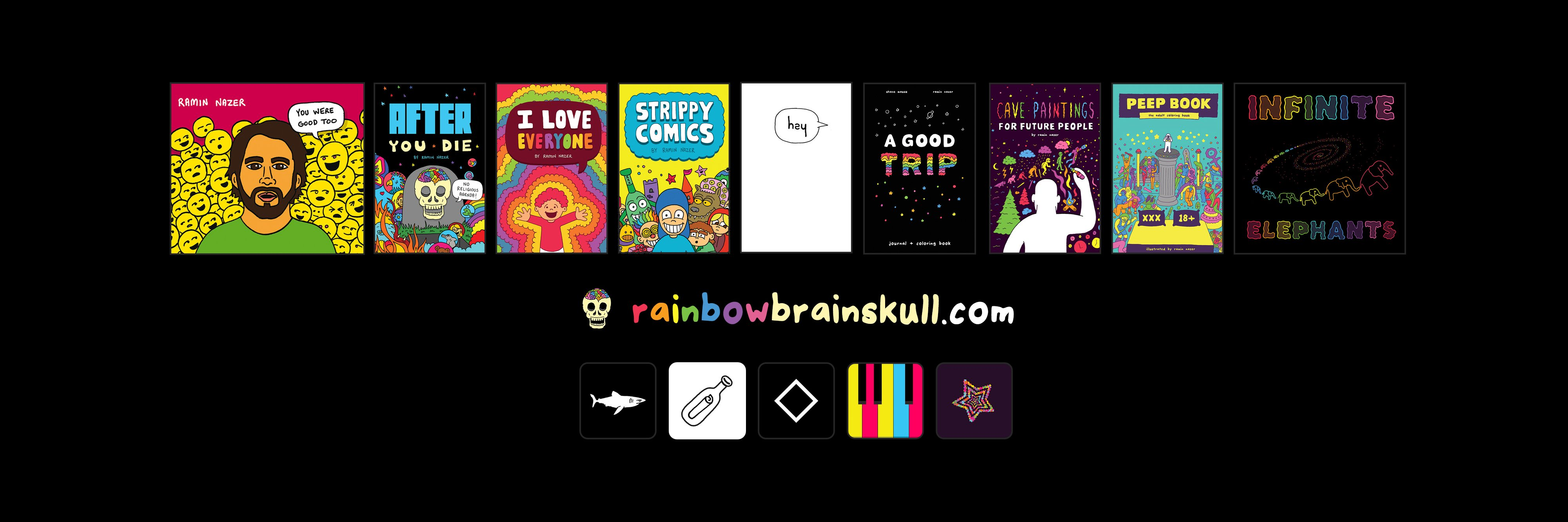 A new episode of the Rainbow Brainskull podcast with @shanecomedy just went up today! We talk about his new documen… https://t.co/lNcbkP7901