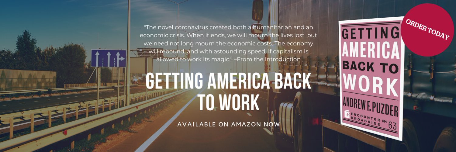 "Husband, father, former CEO. Senior Fellow, Pepperdine U School of Public Policy. Author ""Getting America Back to Work"" order on Amazon"
