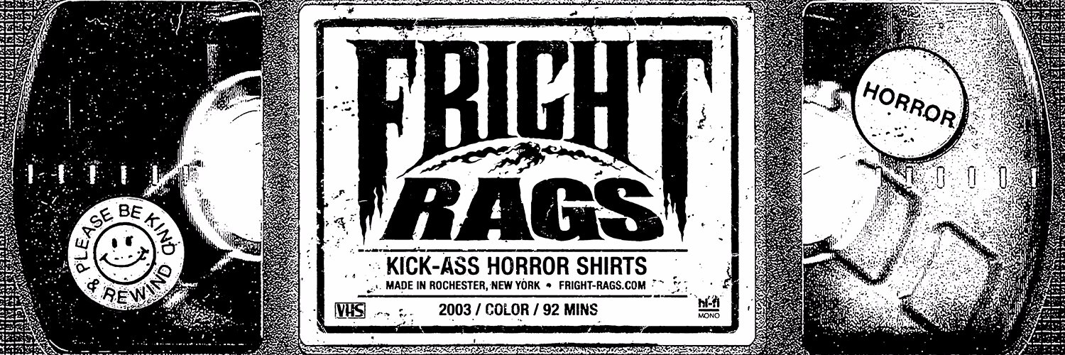 Kick ass horror shirts. fright-rags.com