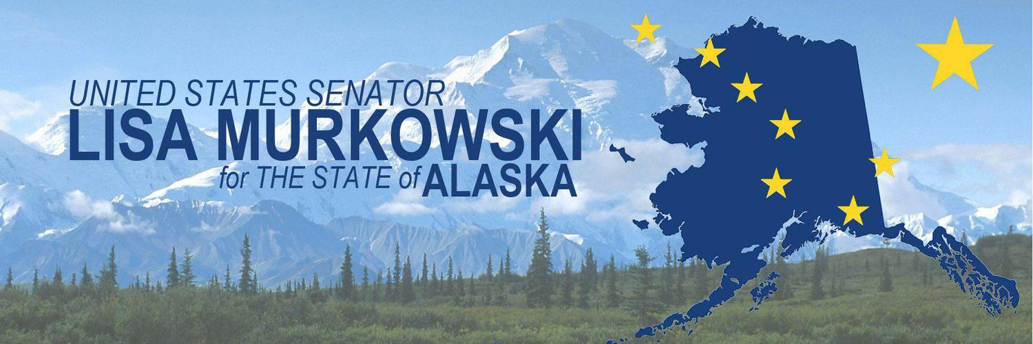Official Twitter account for U.S. Senator Lisa Murkowski. Follow me for news and updates on what's happening in the Senate and across Alaska.