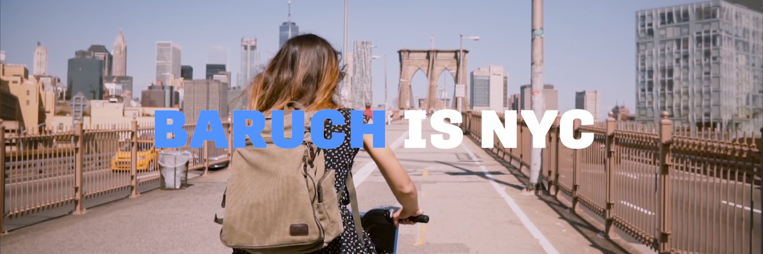 Baruch College, CUNY's official Twitter account