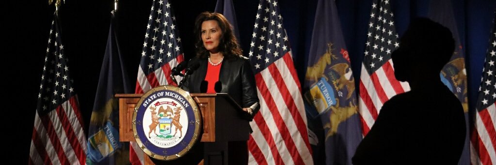Close your eyes and try to imagine the reaction if someone photographed Gov. Whitmer in a Washington DC hotel bar,… https://t.co/hC2Fiz2pm4