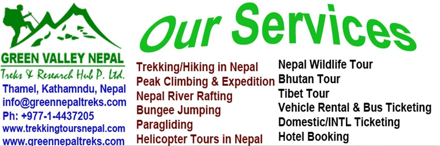 Tour Nepal Banners Institute Banners