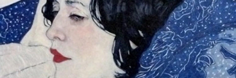 Instagram and Facebook: @VeraFarmiga Profile painting cred: Hope Gangloff
