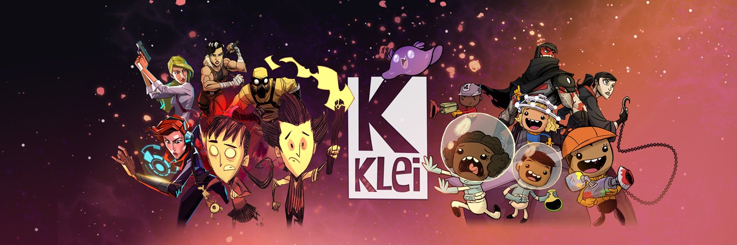 Klei (pronounced CLAY) is an independent studio based in Vancouver. Maker of Don't Starve, Mark of the Ninja, and more! Game Support: support.klei.com