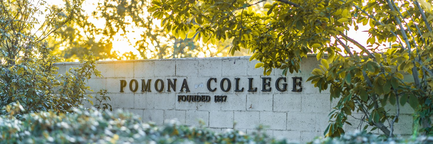 Pomona College's official Twitter account