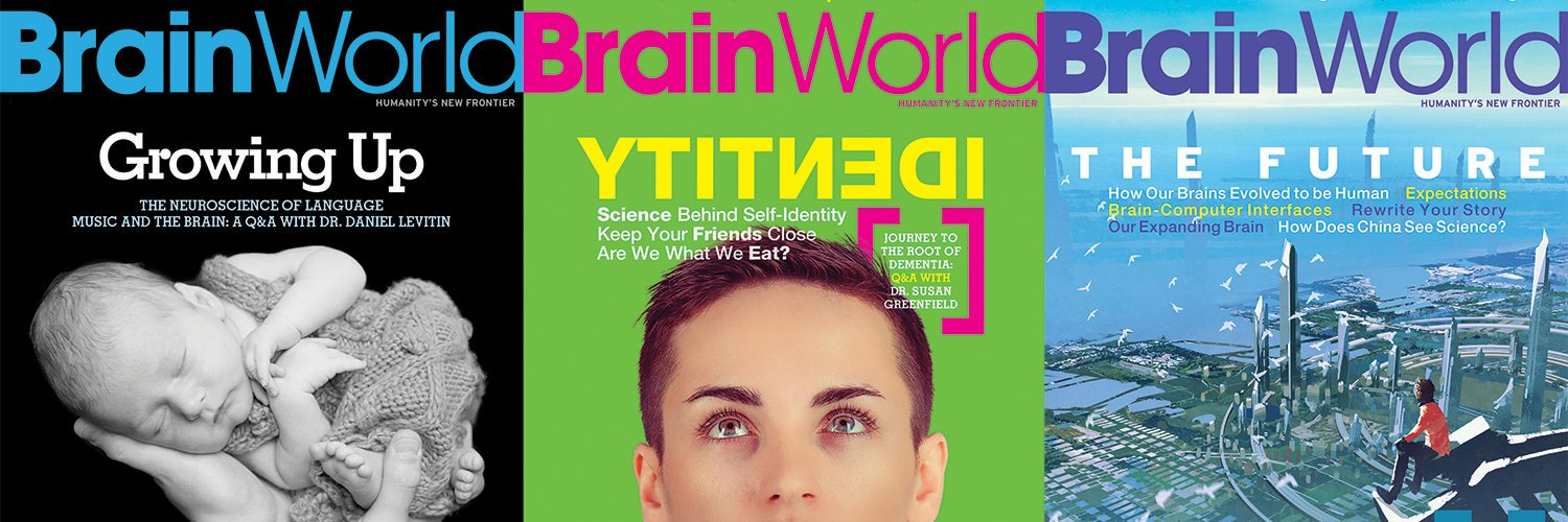 The only magazine dedicated to the brain — that explores how neuroscience can affect & impact health, wellness, culture, education, society, technology, & more.