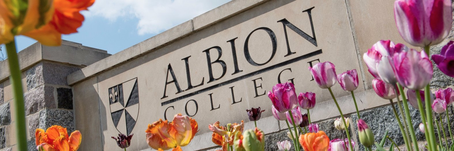 Albion College's official Twitter account