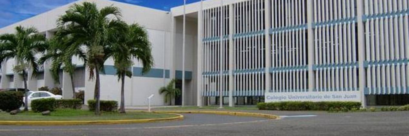Colegio Universitario de San Juan's official Twitter account