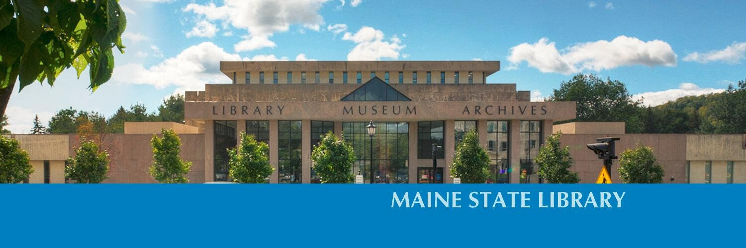 Maine State Library (@MaineStLibrary)   Twitter