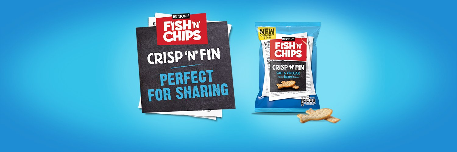 We're back! Burton's Daily Fish 'n' Chips are THE savoury snack, stimulating your senses with an eye watering flavour hit!