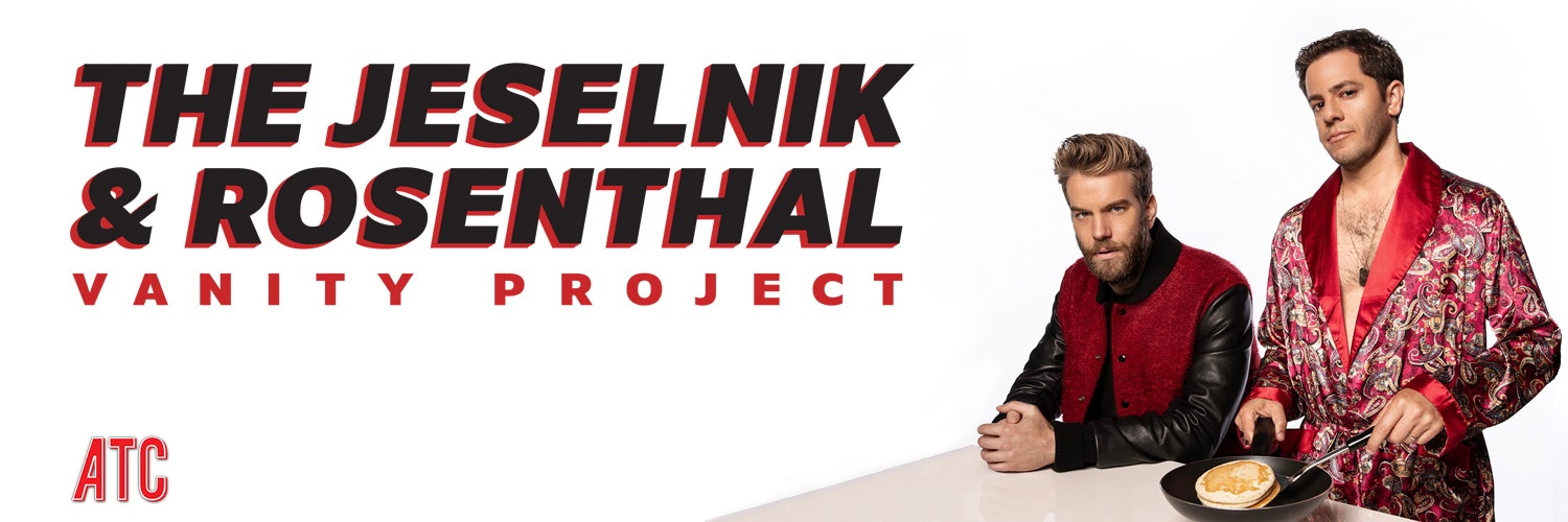 'Tall and trim, with the sculpted features of a model, Jeselnik appears far too handsome to be a comic'-The New York Times anthonyjeselnik.com