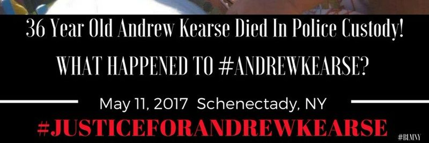 I'm tha wife of Andrew Kearse who was kill by Schenectady Police department on May 11 2017 #justiceforandrewkearse #Icantbreathe #andrewkearseact