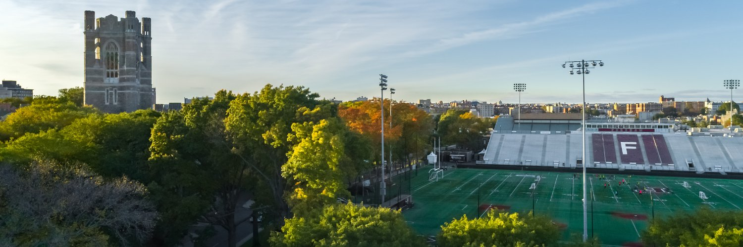 Fordham University's official Twitter account