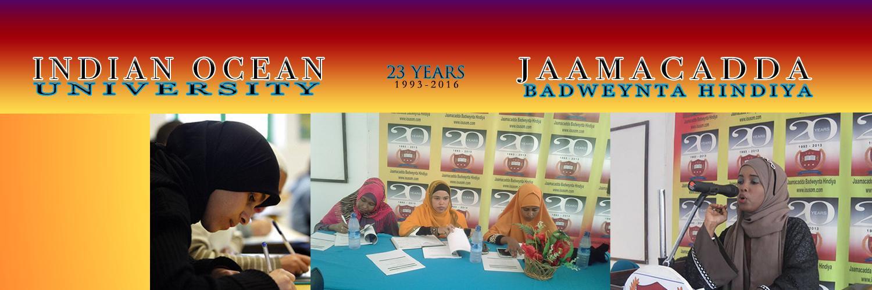 Jaamacada Badweynta Hindiya's official Twitter account