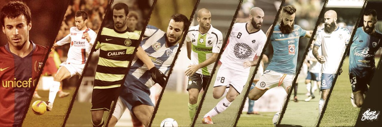 I'm a MEXICAN/CATALAN! ex-jugador de F.C.Barcelona, O. Lyonnais, Celtic F.C., F.C.Volga, Santos, UDG, Cruz Azul, C.D.Tenerife, Tampico Madero.