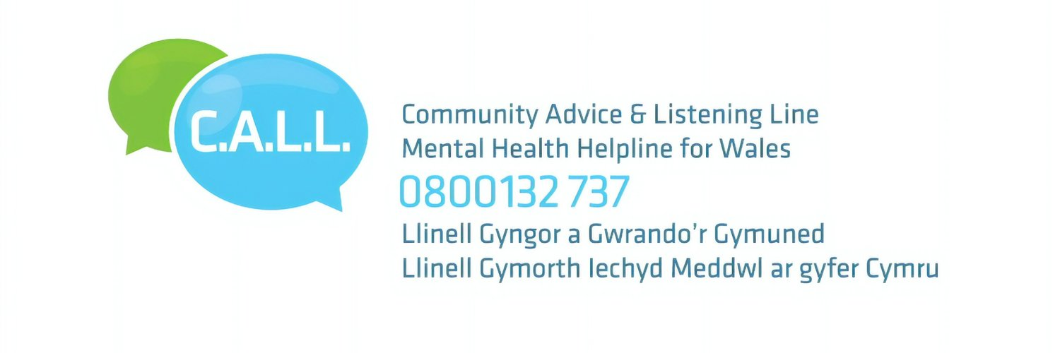 #Mentalhealth #helpline for Wales, providing emotional support, referral to agencies and free self help leaflets for anyone in Wales, call us on 0800 132 737