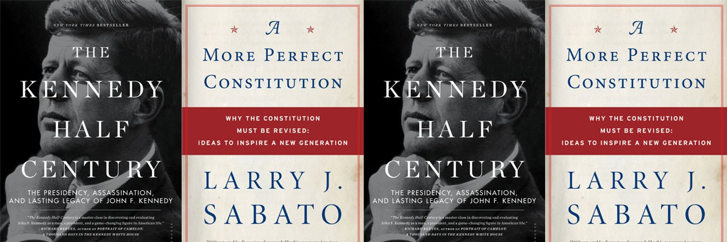 Director, UVA Center for Politics. Author, The Kennedy Half Century bit.ly/17ZaPVk. Read the Crystal Ball every Thursday (link below).