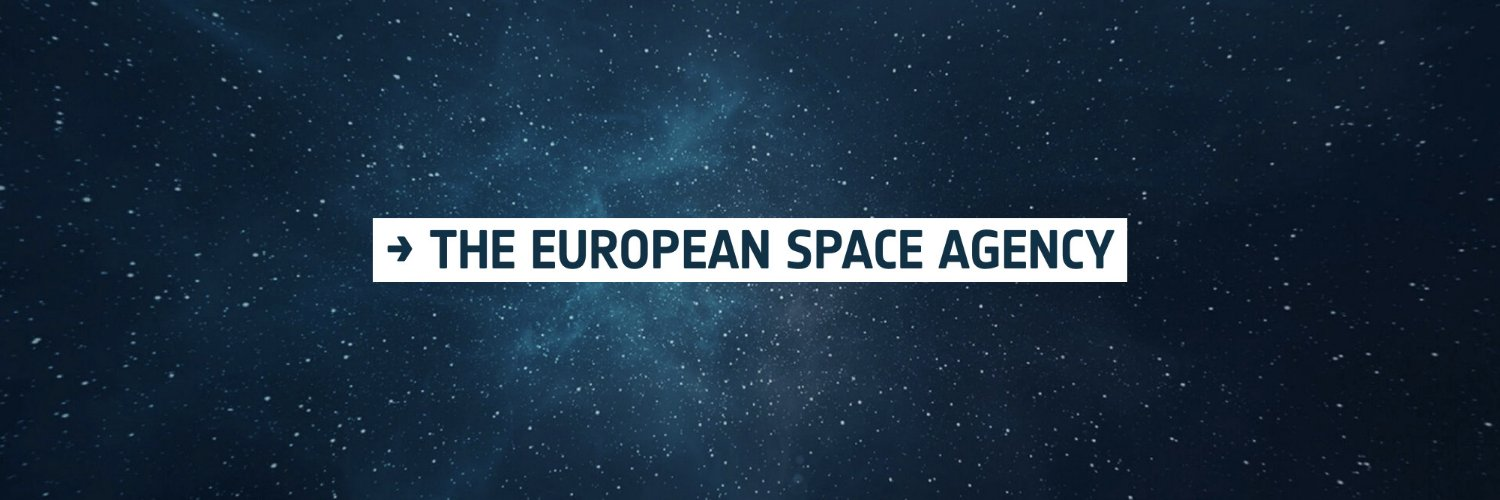 European Space Agency, keeping you posted on European space activities. Please see our Privacy Notice: esa.int/ESA/Connect_wi…