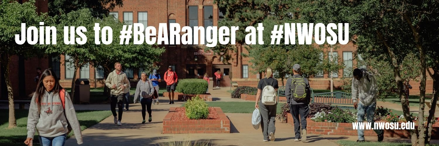 Northwestern Oklahoma State University's official Twitter account