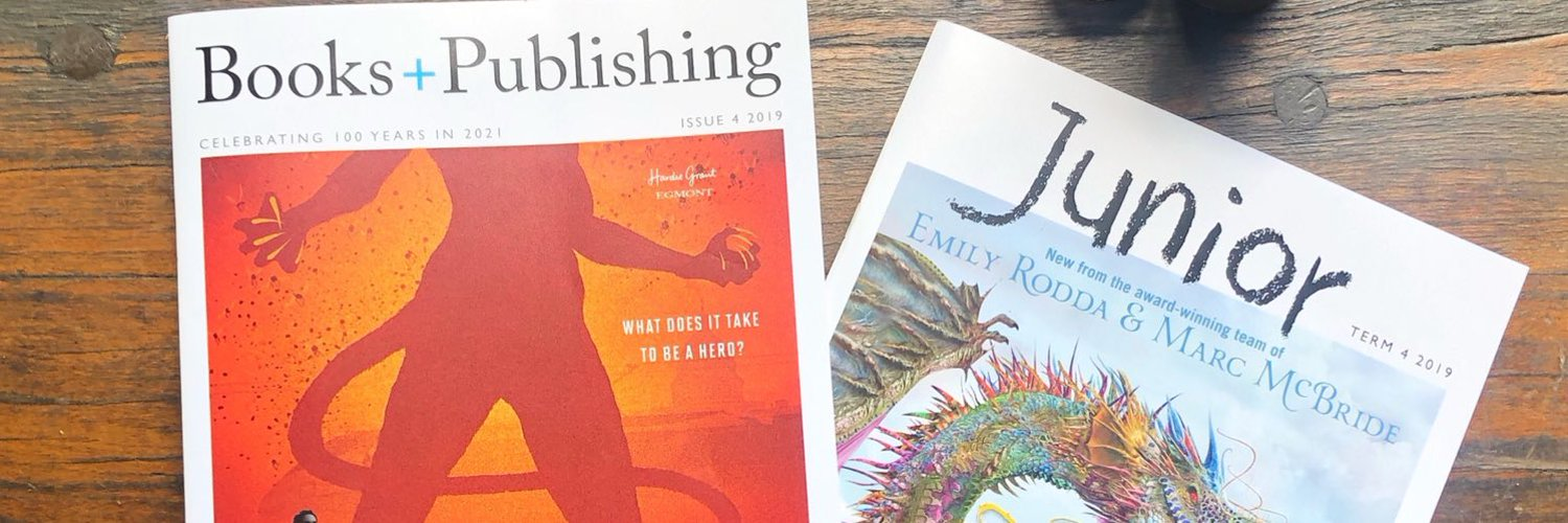 Team Books+Publishing (we make a magazine and various newsletters) on all things Australian book industry-related.