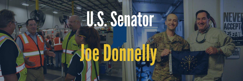 U.S. Senator Joe Donnelly's communications staff