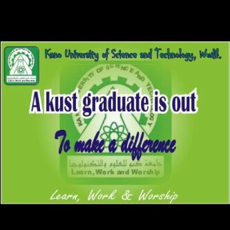 Kano University of Science and Technology's official Twitter account
