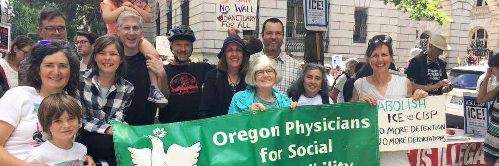 Groups such as OJRC and Oregon Physicians for Social Responsibility (OPSR) made calls to action Thursday, demanding… https://t.co/Mfcqvy8ILS