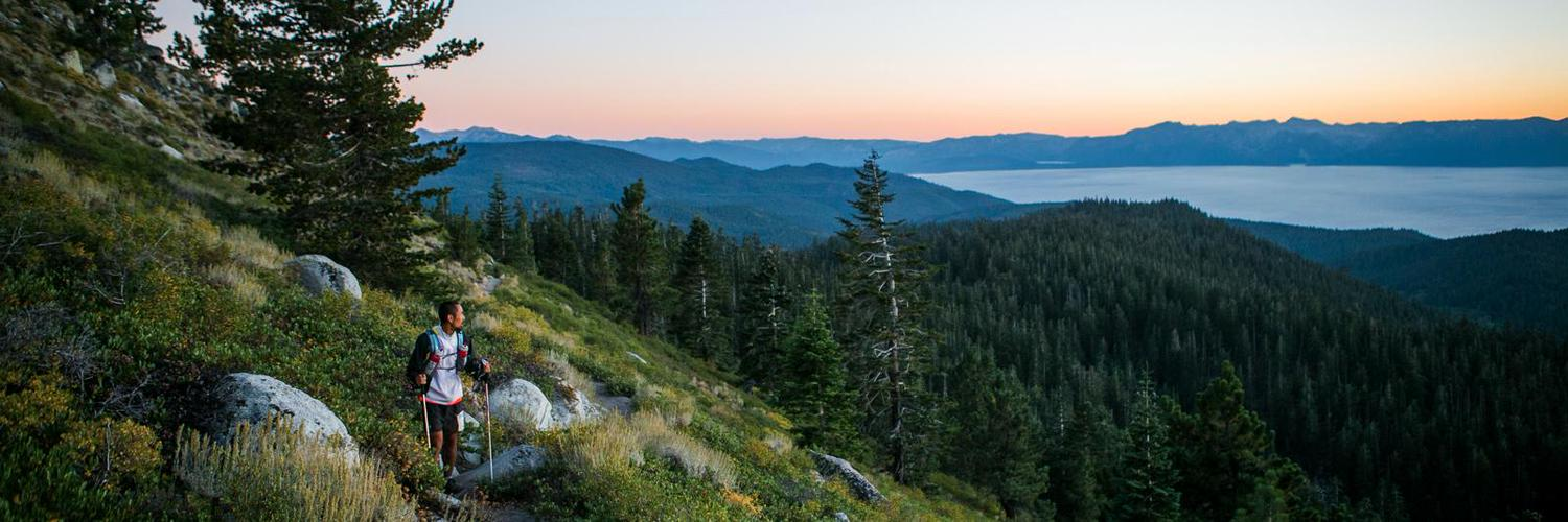The first ever and largest 200 mile single loop mountain race in America, the Tahoe 200 circles the sparkling, clear blue waters of Lake Tahoe from the TRT.