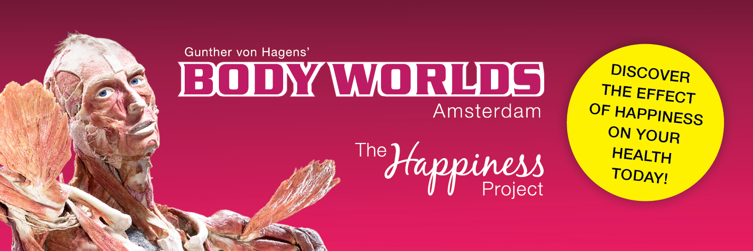 BODY WORLDS: The Happiness Project Amsterdam   The anatomy museum with real human bodies, showing you the effects of Happiness!