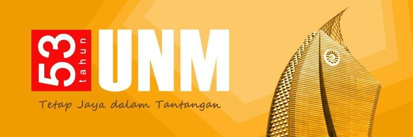 Universitas Negeri Makassar's official Twitter account