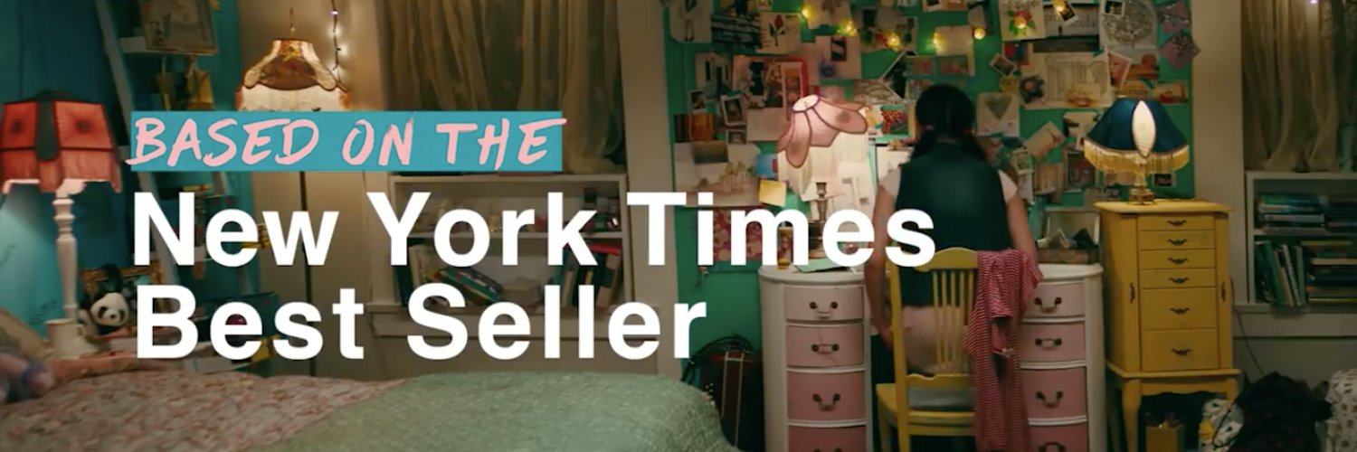 author of the #1 NY Times bestselling TO ALL THE BOYS I'VE LOVED BEFORE series-- now on Netflix