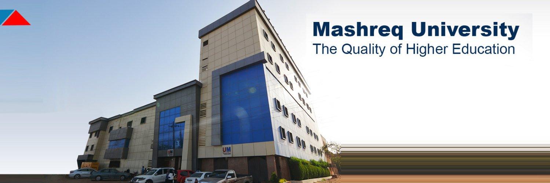Mashreq University's official Twitter account