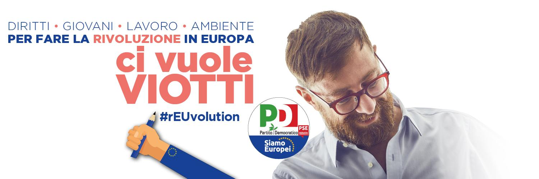Daniele VIOTTI Eurodeputato del Parlamento Europeo