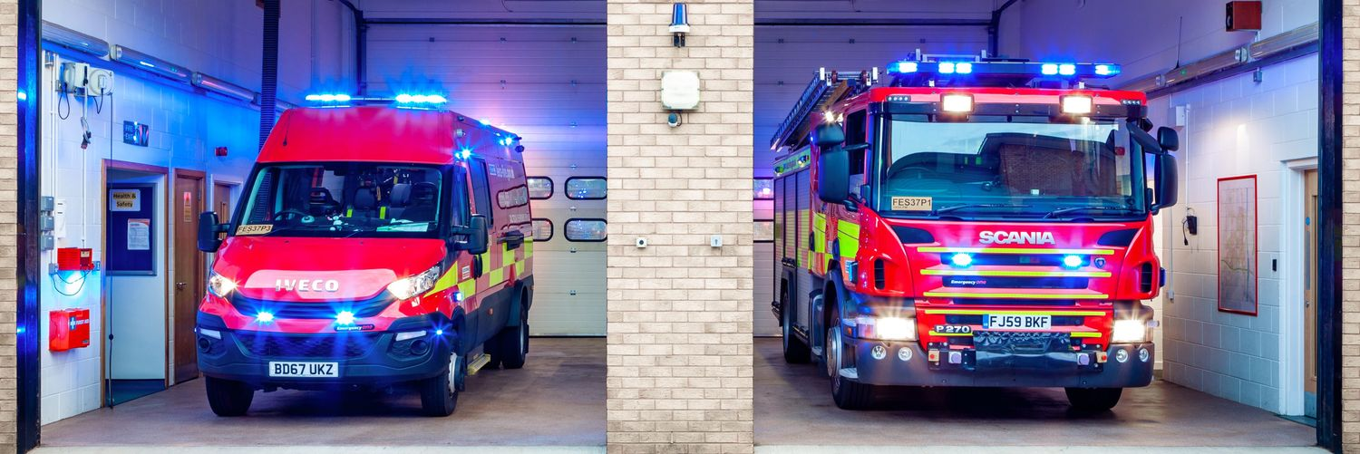 Lutterworth S37P1 and @lfrssouthern S40P1 were mobilised to signs of smoke in the basement of the Wycliffe Memorial… https://t.co/a1UWHYISVf
