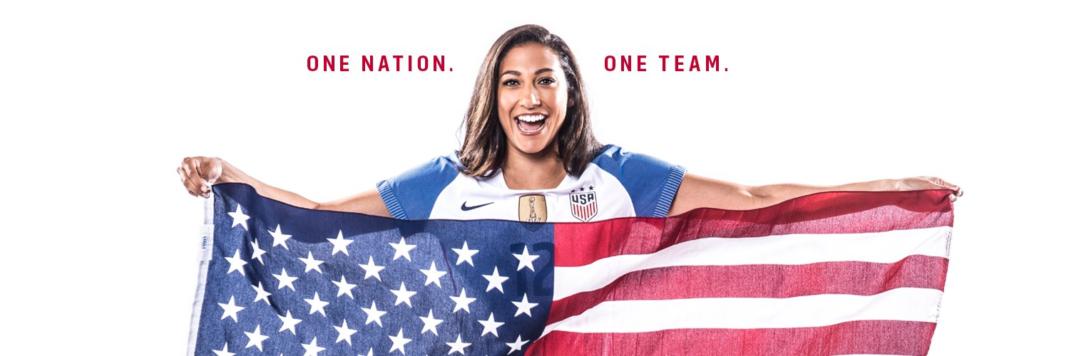 It is the great honor of my life to play this sport and represent this country. Every woman deserves equal pay and… https://t.co/iB7vZlr7JA