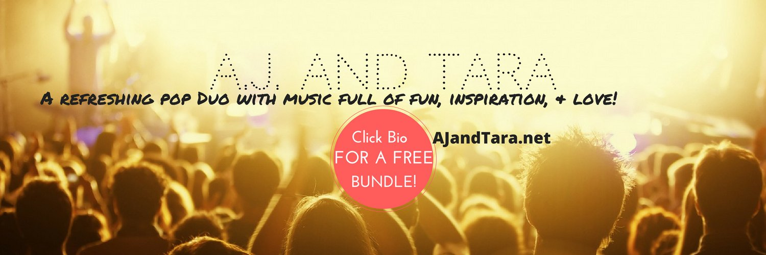 A Pop group blended with Alt roots. 2 Co-singers & some guitar making Catchy, Hopeful Music. Get an EXCLUSIVE Digital Bundle FREE: ajandtara.com/links